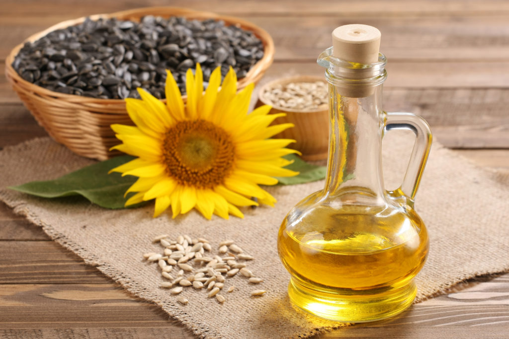 Refined, bleached, deodorized, winterized sunflower oil